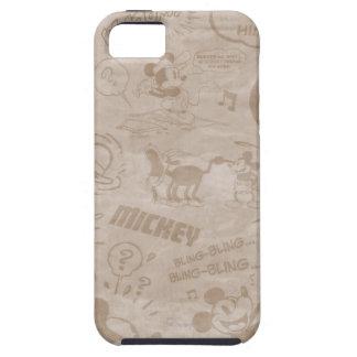 Antique Mickey 3 iPhone 5 Case