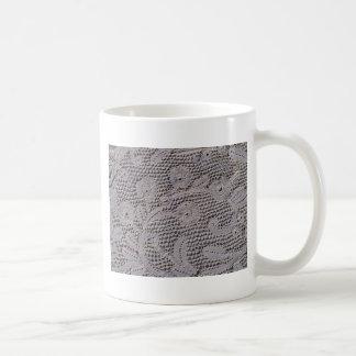 Antique Milanese Lace Coffee Mug