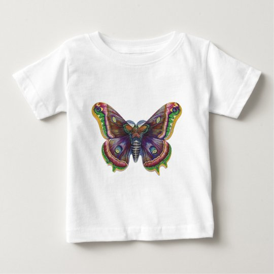 Antique Moth Baby T-Shirt