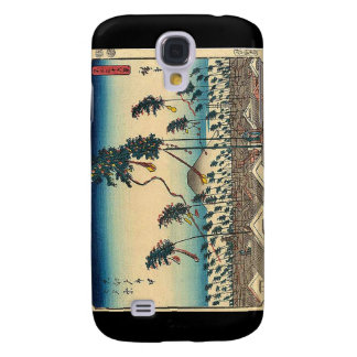 Antique Mt. Fuji Painting c. 1800s Japan Samsung Galaxy S4 Case