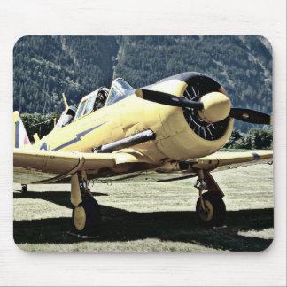 Antique Museum Plane Mouse Pad
