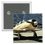 Antique Museum Plane Pin