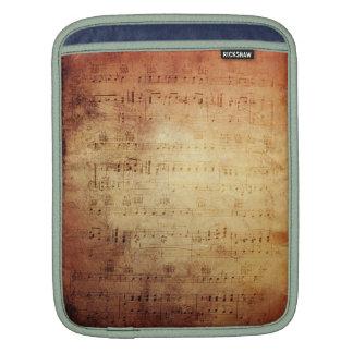 Antique Music iPad Sleeves