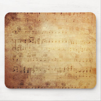 Antique Music Mouse Pad