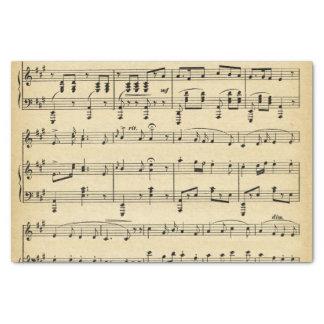 "Antique Music Theme 10"" X 15"" Tissue Paper"