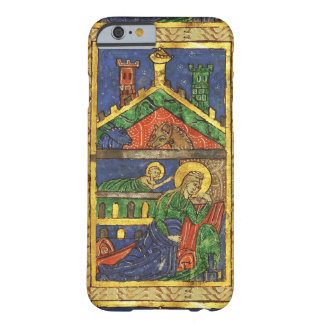 ANTIQUE NATIVITY CHRISTMAS PARCHMENT BARELY THERE iPhone 6 CASE