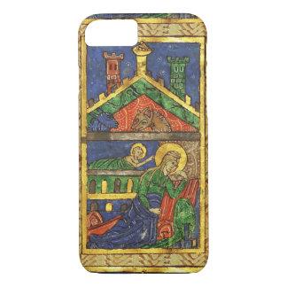 ANTIQUE NATIVITY CHRISTMAS PARCHMENT iPhone 8/7 CASE