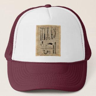 Antique Necropsy Kits,Zombie Apoalypse,Vintage Art Trucker Hat