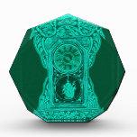 Antique Neon clock Acrylic Award