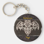Antique Night Creature Gothic Night Thing Key Chain