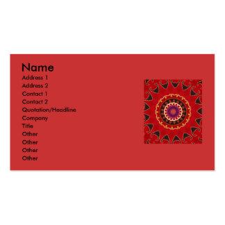 Antique Nomadic floral detail Business Cards