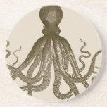 Antique Octopus Coasters
