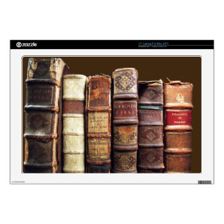 Antique Old Books Vintage Tomes Gift Decals For Laptops