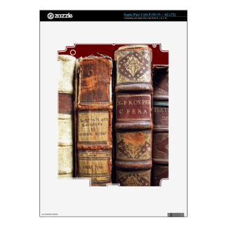 Antique Old Books Vintage Tomes Gift Skin For iPad 3
