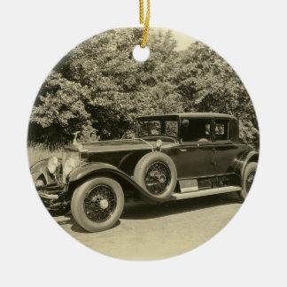 Antique Old Car- Ornament