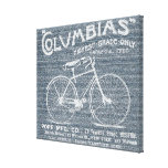 Antique Old Fashioned Bicycle Jeans Canvas Gallery Wrap Canvas