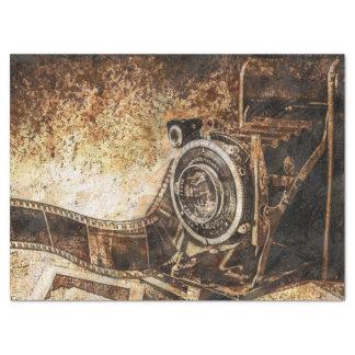 "Antique Old Photo Camera 17"" X 23"" Tissue Paper"