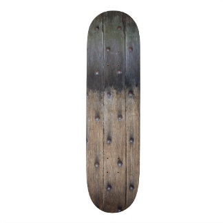 Antique Old Wooden Door Skateboard