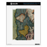 Antique Old World Map Historic Electronics Decal Decals For The NOOK
