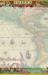 Old world map stationery zazzle antique old world map of the americas 1606 stationery gumiabroncs Image collections