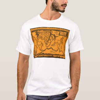 Antique, Old World Map T-Shirt
