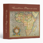 Antique Old World Mercator Map of Africa, 1633 Vinyl Binders