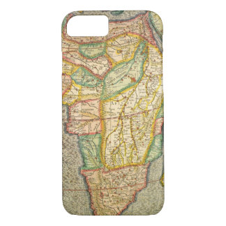 Antique Old World Mercator Map of Africa, 1633 iPhone 8/7 Case