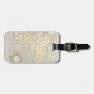 Antique Old World Mercator Map of Africa, 1633 Luggage Tag