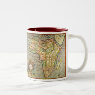 Antique Old World Mercator Map of Africa, 1633 Mugs