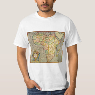Antique Old World Mercator Map of Africa, 1633 T-Shirt