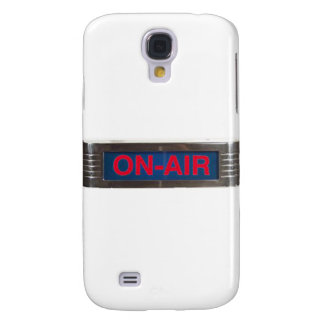 Antique On-Air Sign or On-The-Air Broadcasting Samsung Galaxy S4 Cases
