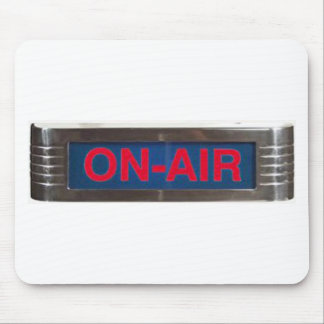 Antique On-Air Sign or On-The-Air Broadcasting Mouse Pad