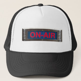 Antique On-Air Sign or On-The-Air Broadcasting Trucker Hat