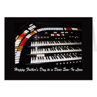 Antique Organ Happy Father's Day to Son-In-Law Card