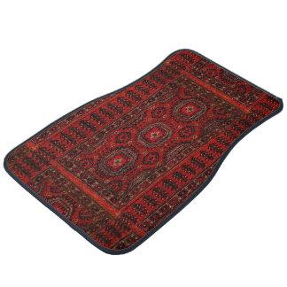 Antique Oriental rug design Car Mat