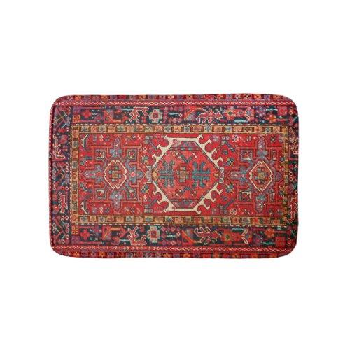Antique Oriental Turkish Persian Carpet Bath Mat