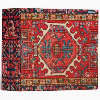 Antique Oriental Turkish/Persian Rug Photo Print Binder