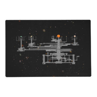 Antique Orrery in Space Placemat