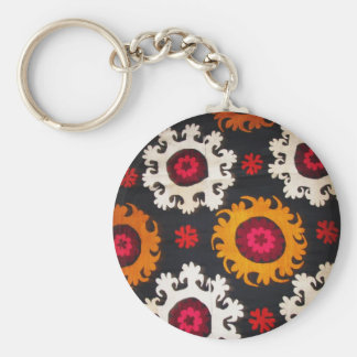 Antique Ottoman Embroidery Turkish Rug Keychain