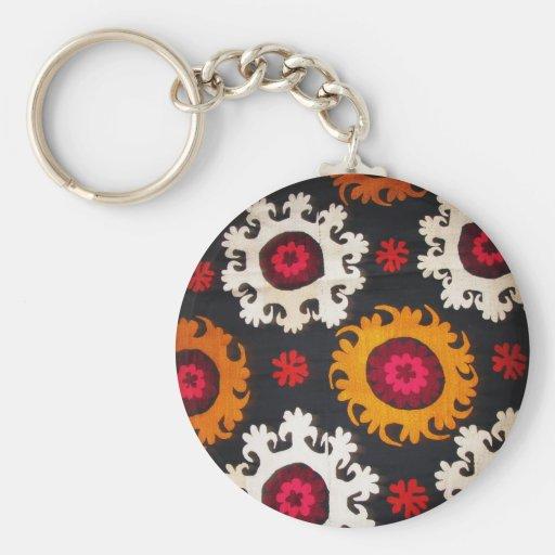 Antique Ottoman Embroidery Turkish Rug Keychain Zazzle