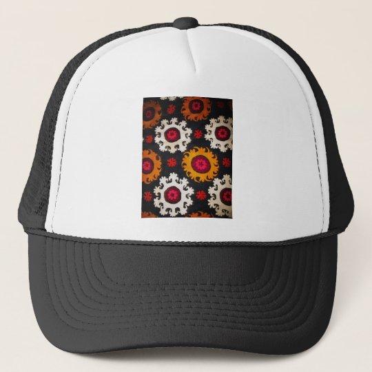 Antique Ottoman Embroidery Turkish Rug Trucker Hat