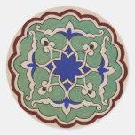 Antique OTTOMAN Islamic Tile Design Stickers
