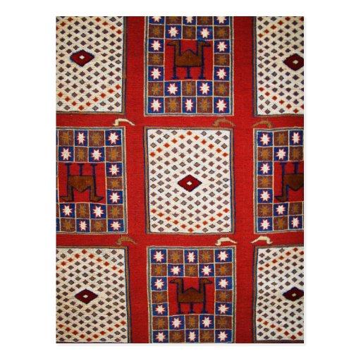 Antique Ottoman Weaving Postcard