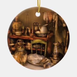 Antique - Our first apartment Ceramic Ornament