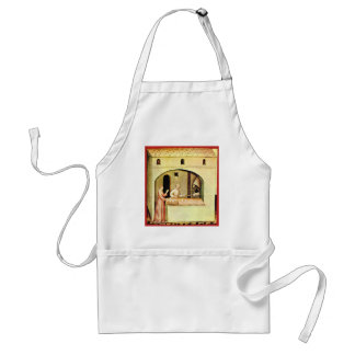 ANTIQUE OVEN  BAKER ,BAKERY BREAD SHOP ADULT APRON