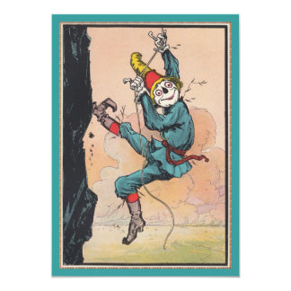 Antique OZ Scarecrow New Address Move Announcement