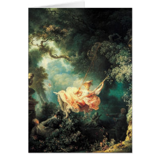Antique painting Greeting Cards 46