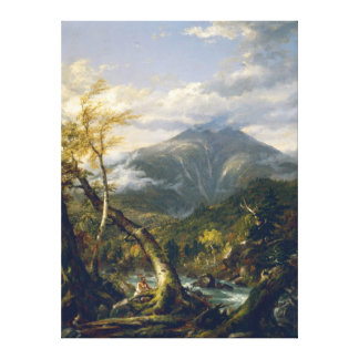 Antique painting Stretched Canvas Print 136