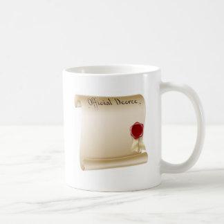 Antique paper document mugs