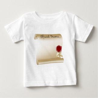 Antique paper document tee shirt